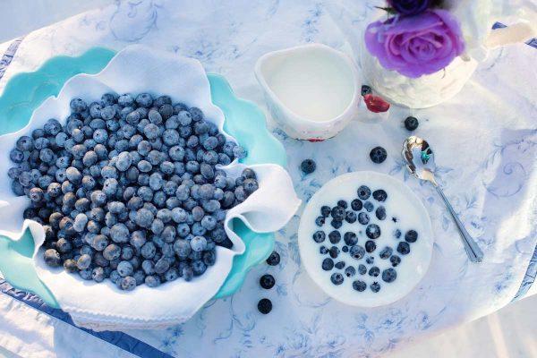 super foods - blueberries
