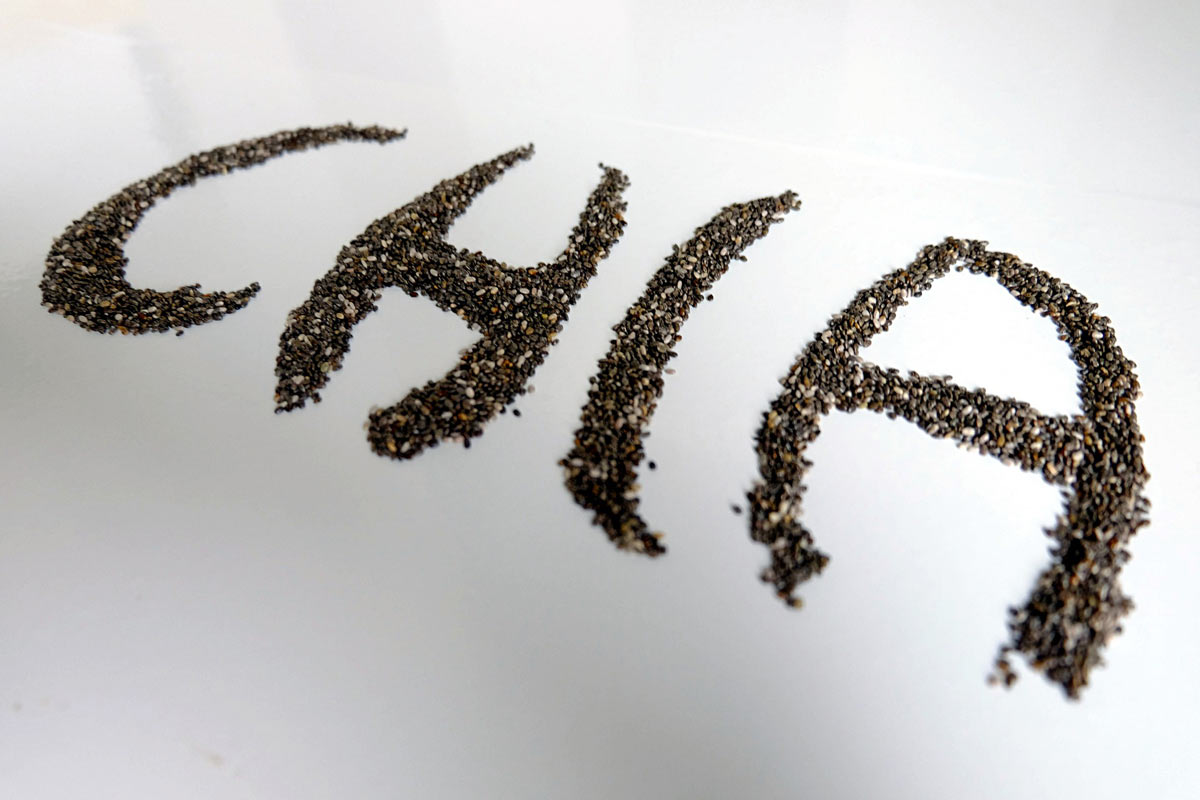 super foods - chia seeds