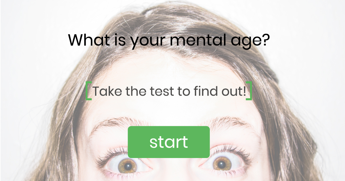what's your mental age
