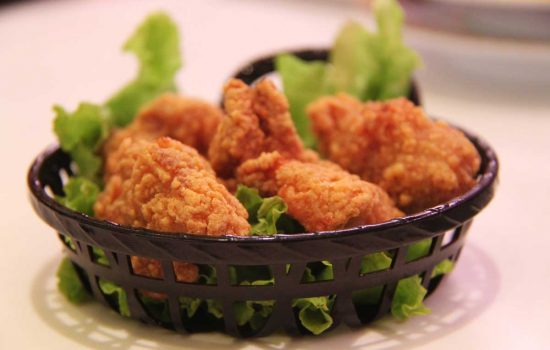Air Frying vs. Deep Frying - Fried Chicken