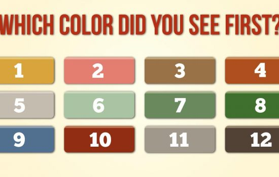 What does the color you choose say about your personality? Take the color test to find out.